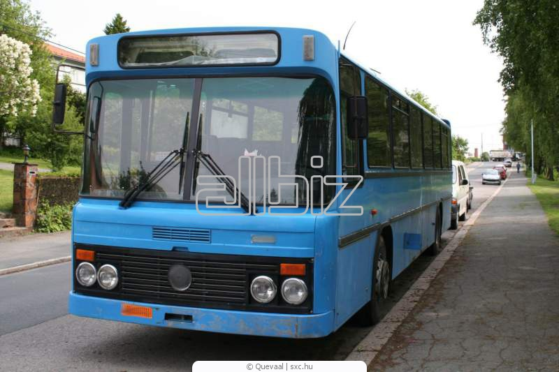 Pedido Transporte regular interior de pasajeros