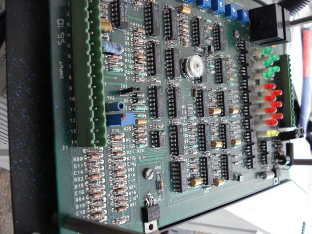 Pedido Reparaciones de tarjetas electrónicas para maquinaria industrial