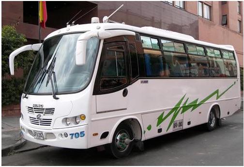 Pedido Transporte Turístico y Escolar