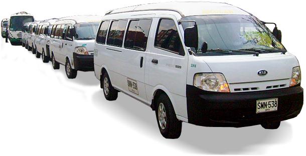 Pedido Transporte de Personal Empresarial