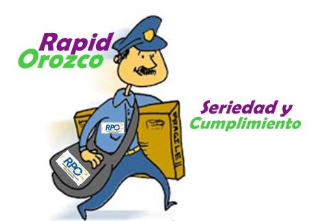 Pedido RapidOrozco - Mensajería En Moto