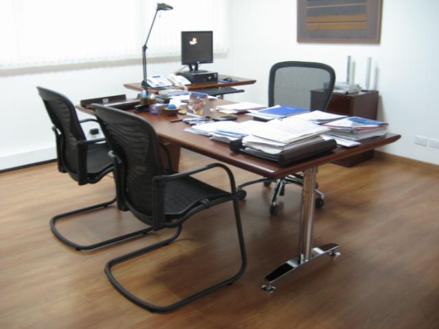 Pedido Mantenimiento de mobiliario de oficina