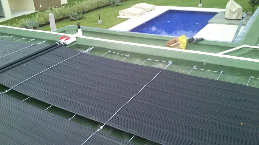 Pedido Sistemas solares calentamiento de piscinas SOEF