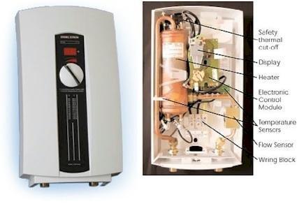 Pedido Reparación de calentadores STIEBEL ELTRON 4553548