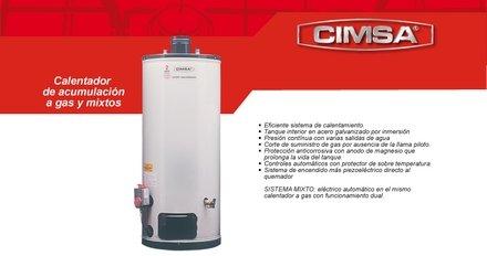 Pedido Reparación de calentadores CIMSA 4553548