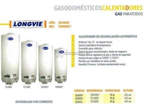 Pedido Reparación de calentadores LONGVIE 4553548