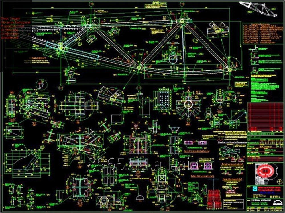 Pedido Dibujante técnico industrial proyectista estructural cad