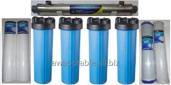 Pedido Filtro agua purificador toda la casa