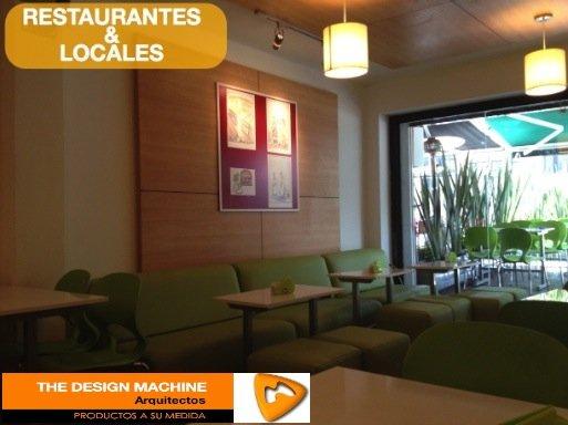 The Design Machine Diseño de locales comerciales y restaurantes Bogota