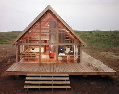 Construcción de casas de campo