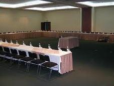 Centro de negocios en hotel