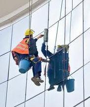 Lavado de vitrales