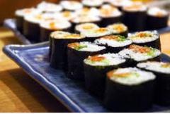 Entrega de sushi