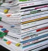 Impresión de revistas semanales