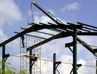 Construcción de angares