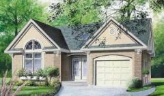 Proyección de casas