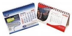 Impresión de calendarios de mesa