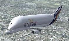 Transportación de cargas en aviones