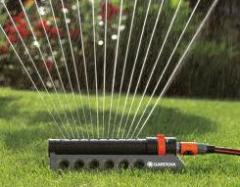 Instalación de sistemas de riego para el jardín