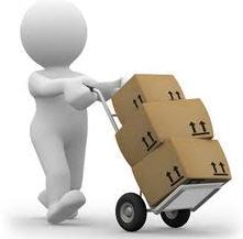 Entrega de correos de documentos y cartas