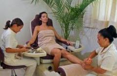 Servicios de salones de belleza