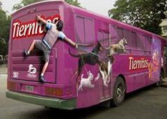Publicidad e el transporte público