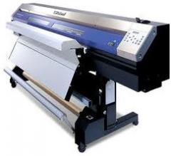 Impresión de alto formato en PVC