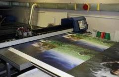 Impresión de ancho formato en plástico