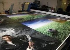 Impresión de ancho formato en vidrio