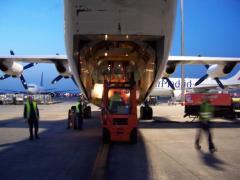 Servicios de vuelos charter
