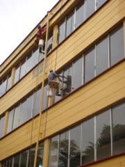 Lavado de fachadas,edificios, bodegas