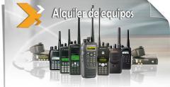 Alquiler de Equipos de Radiocomunicación