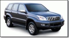 Alquiler del automovil 4X4 Blindada