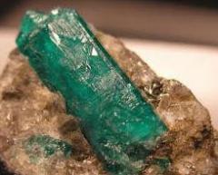 Extracción de esmeraldas