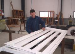 Montaje de estructuras en aluminio