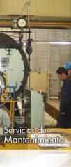 Servicios de mantenimiento de las calderas