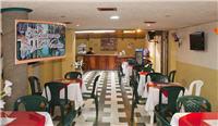 Cafetería en el hotel